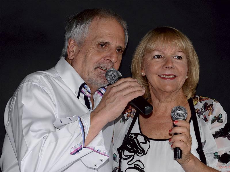 Roland Golder et Martine Daval duo de chansons françaises