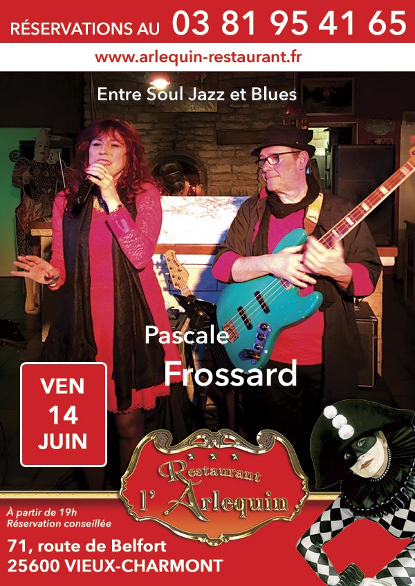 Pascale Frossard en Concert