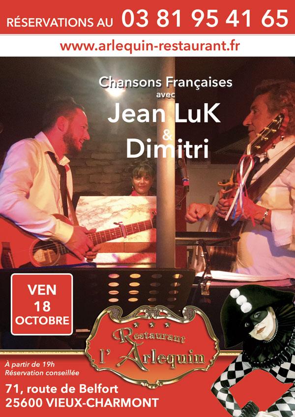 Jean Luc Nougaret et Dimitri le vendredi 18 octobre