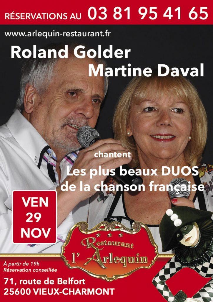Roland Golder et Martine Daval, les plus beaux duos de la chanson française