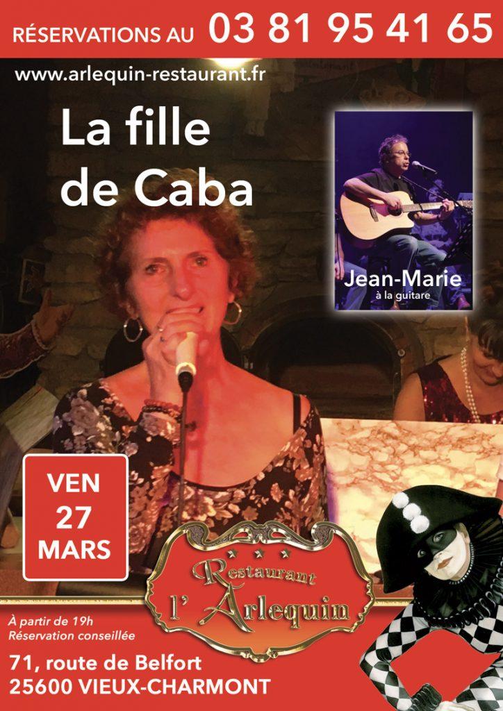Chantal Colson le 27 mars
