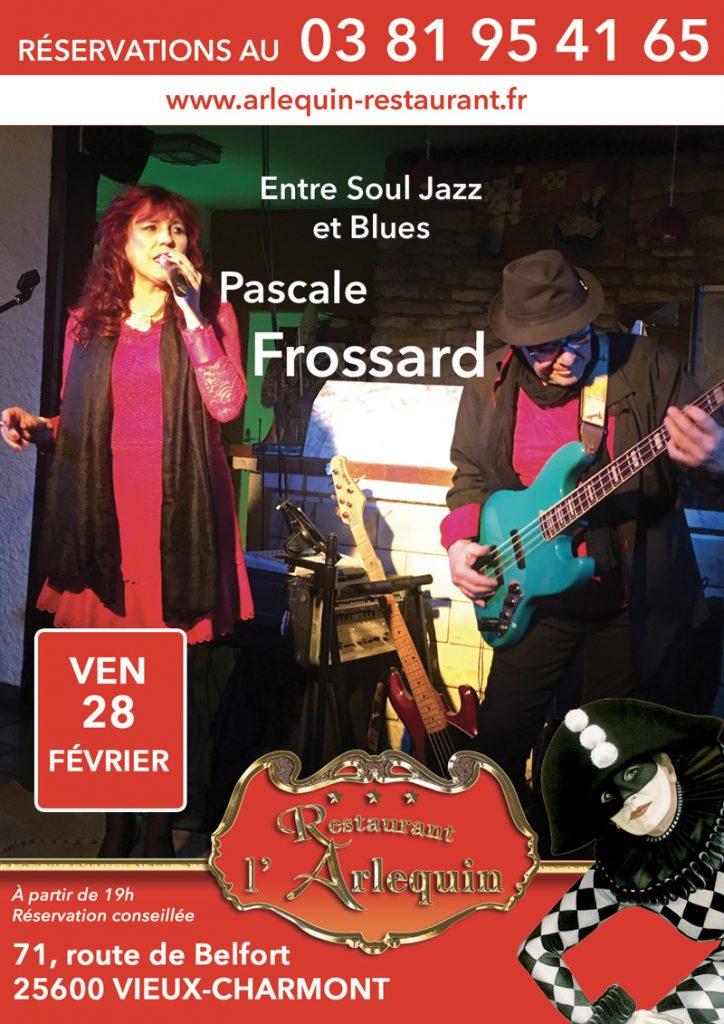 Pascale Frossard le 28 février